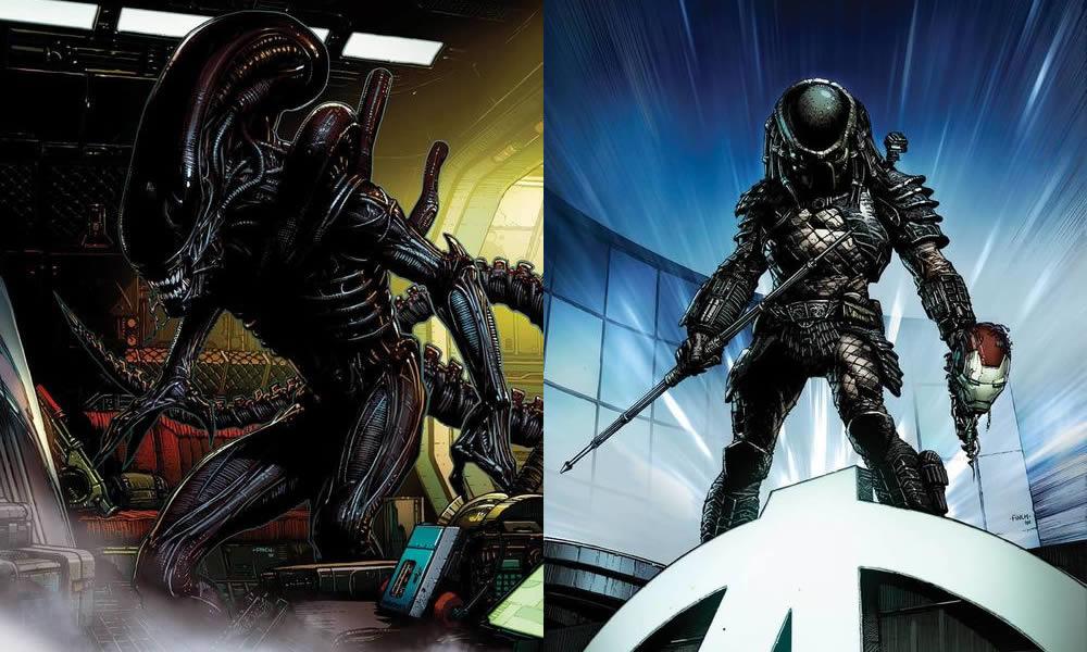 marvel in arrivo i fumetti di alien e predator