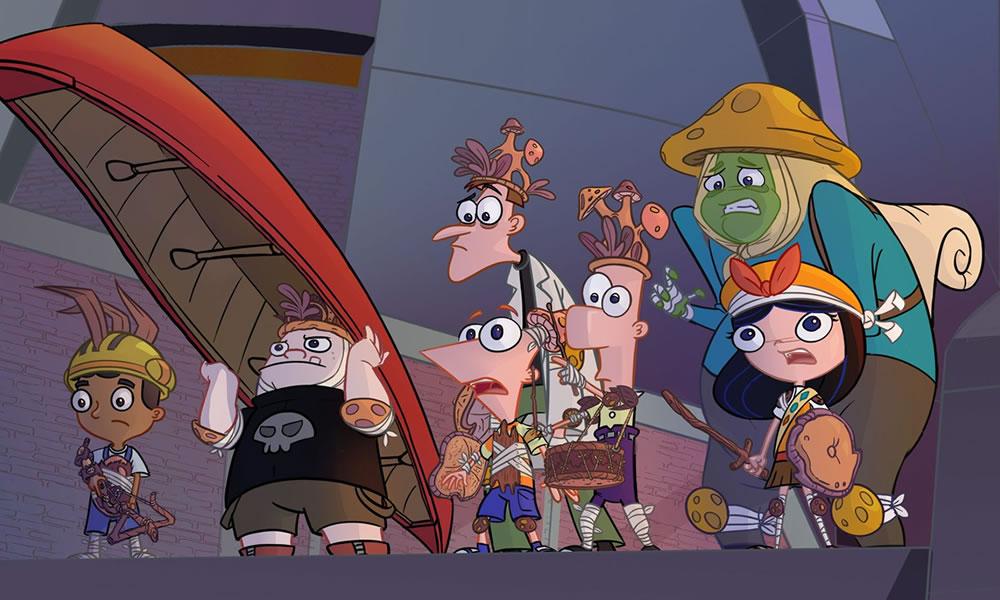 Phineas e Ferb Disney+