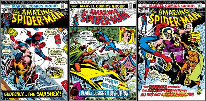 Amazing Spider-Man 116-117-118