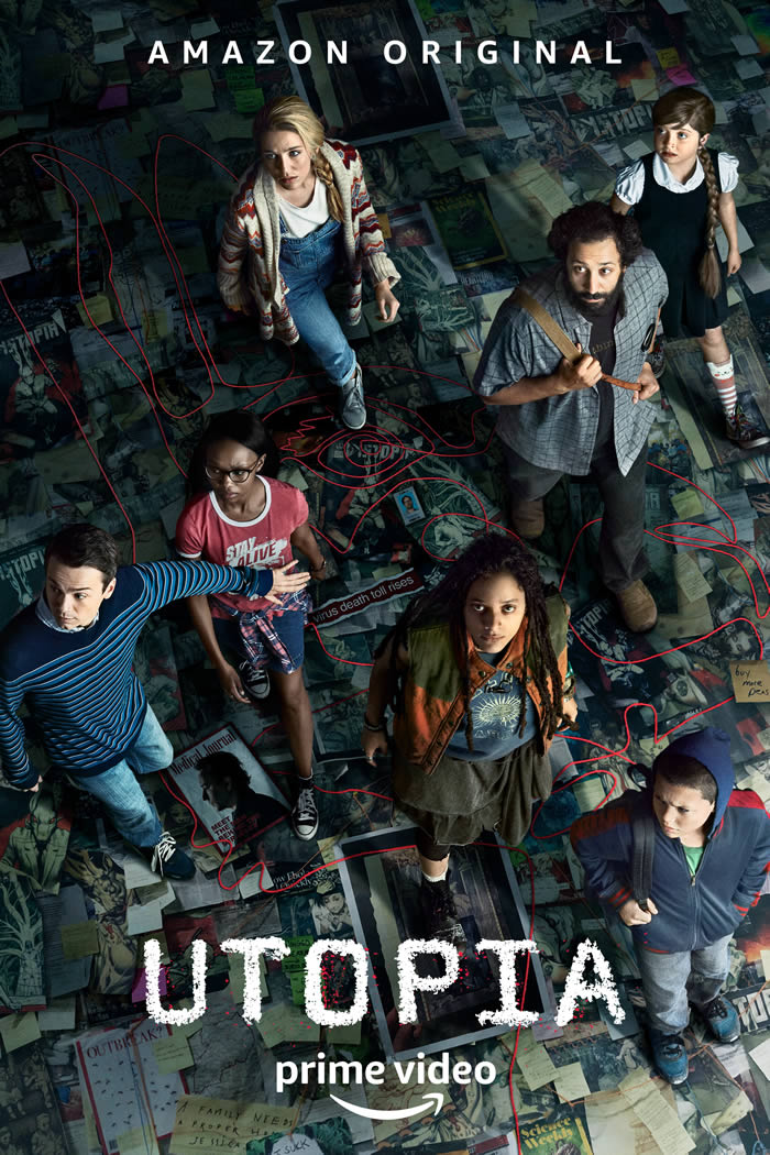 Utopia: il nuovo conspiracy thriller di Amazon Prime Video ...