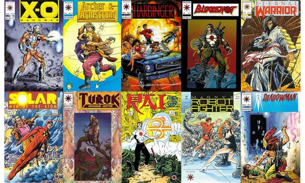 Fumetti USA anni 90: Valiant