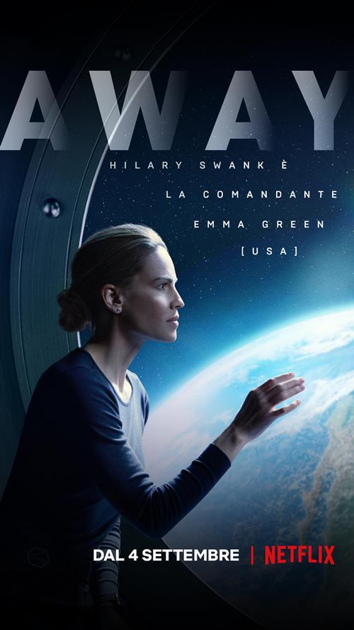 Away poster Netflix