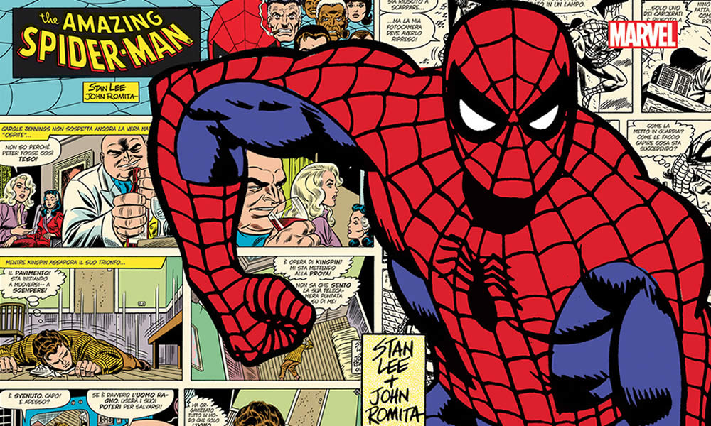 Spider-Man comic strips