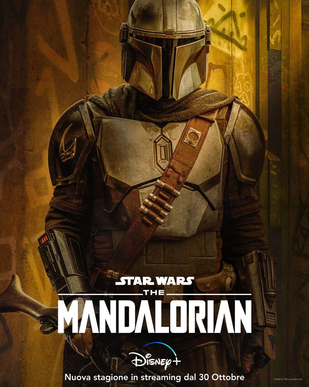 The Mandalorian 2 i poster dei personaggi