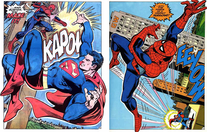 Superman vs Spider-Man