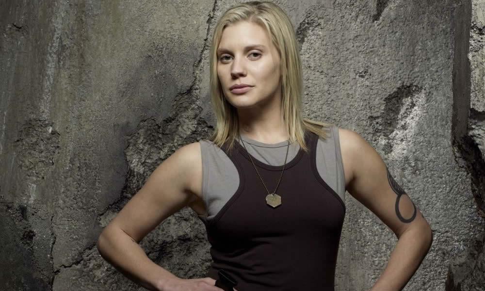 Katee Sackhoff da Battlestar Galactica a The Mandalorian
