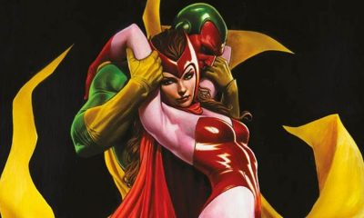 Visione Scarlet Witch