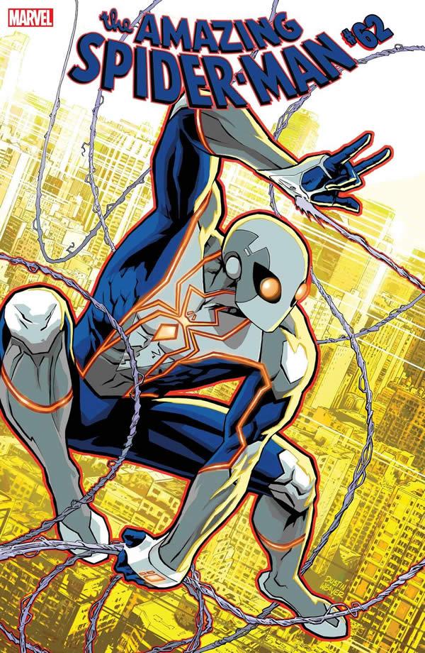 Spider-Man nuovo costume - ASM 62 edizione USA
