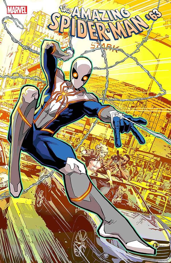 Spider-Man nuovo costume - ASM 63 edizione USA