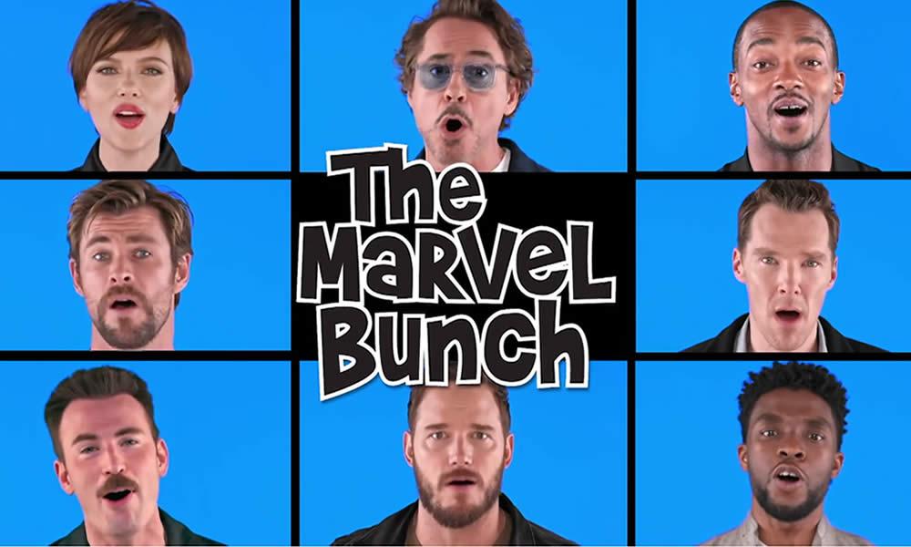 WandaVision, Brady Bunch, Marvel Bunch