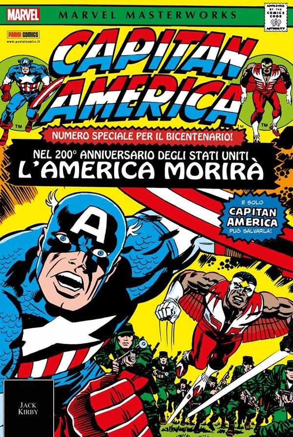 Capitan America Marvel Masterworks