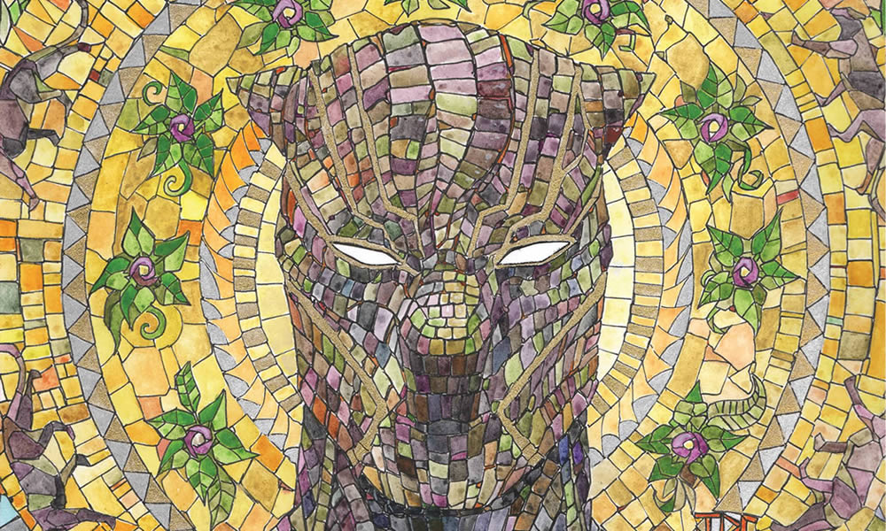Black Panther variant cover
