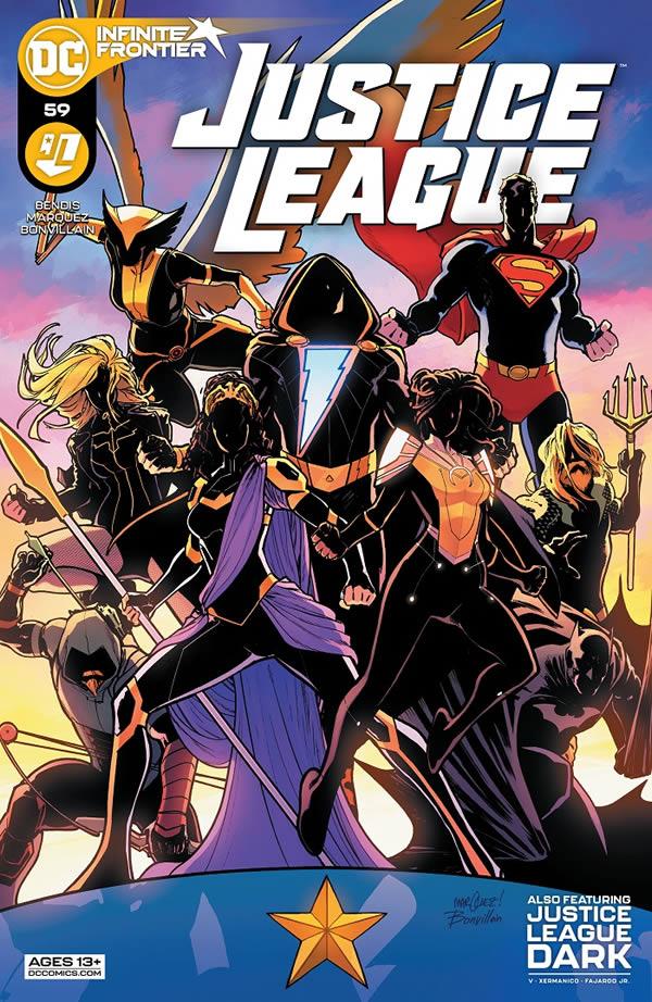 Justice League 59 edizione USA
