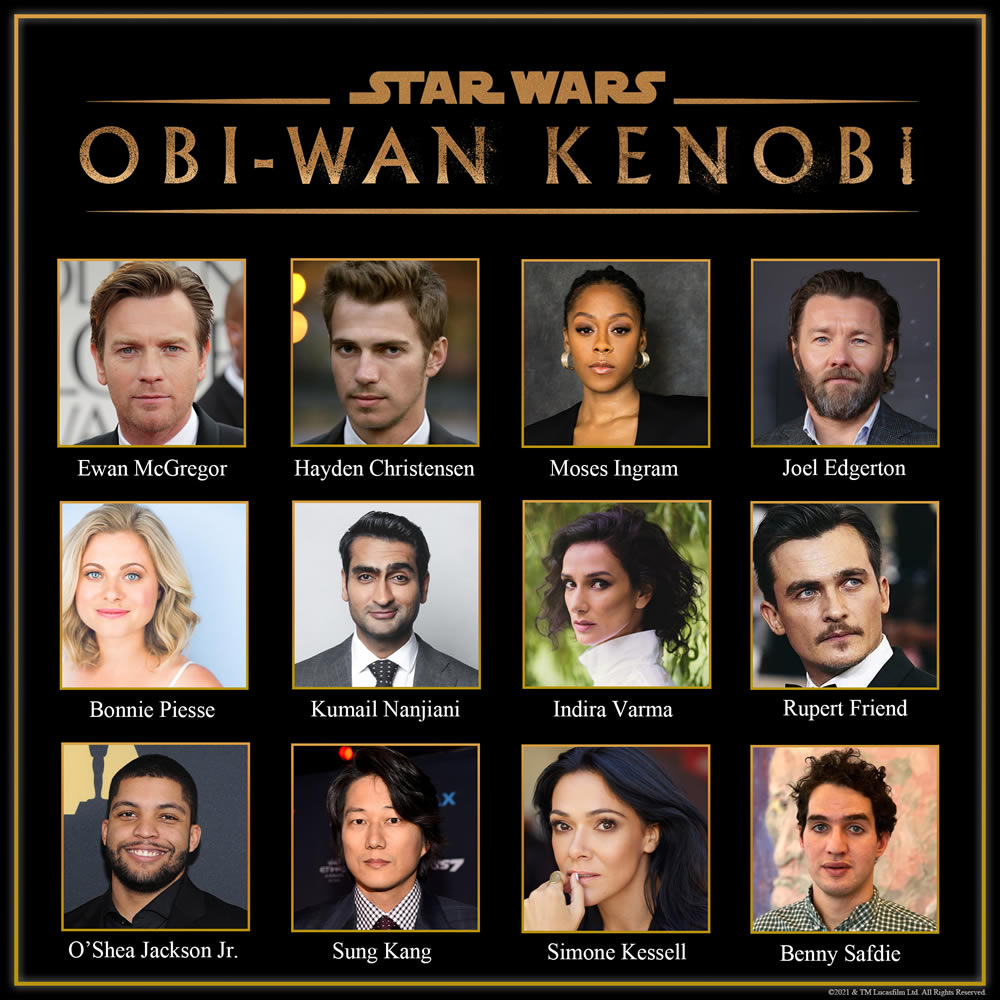 Obi-Wan Kenobi cast