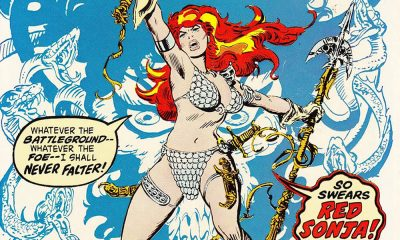 Red Sonja Frank Thorne
