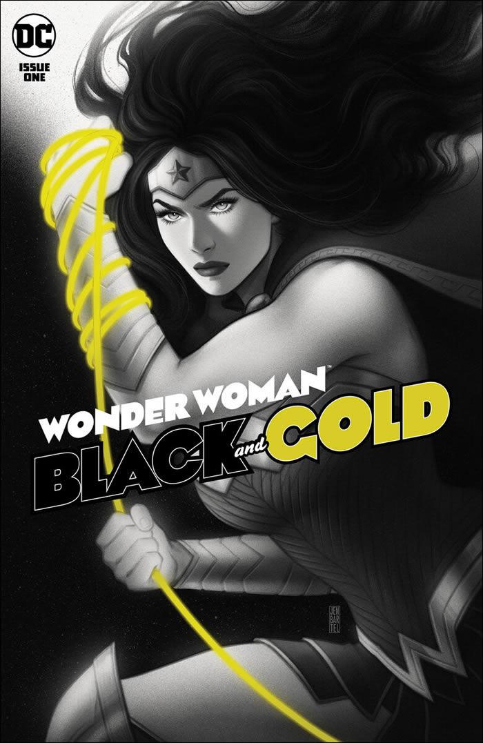 Wonder Woman Black and Gold