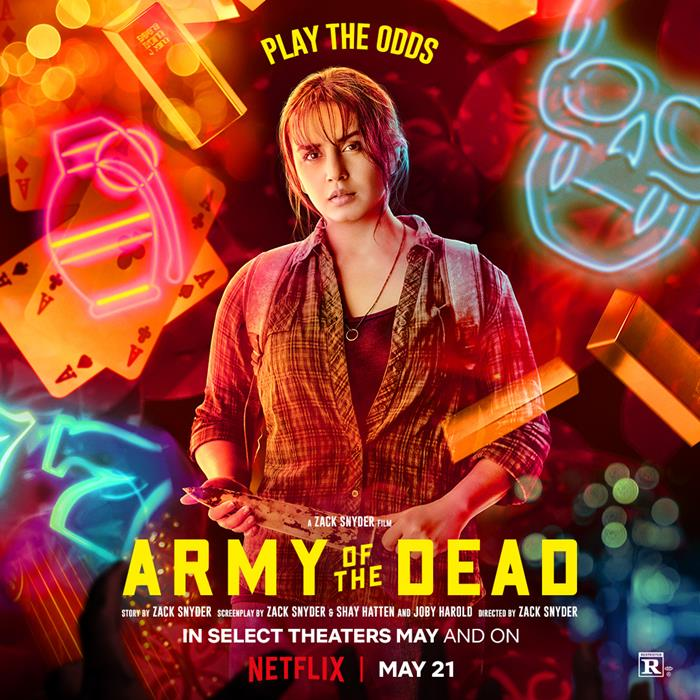 Army of the Dead poster personaggi