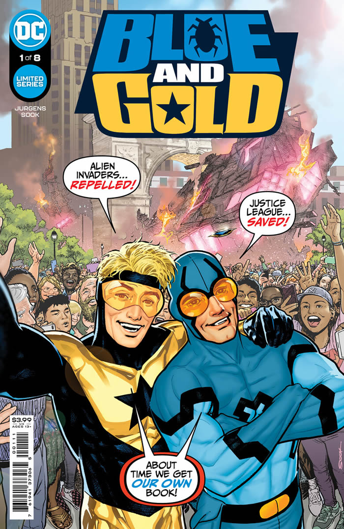 Blue Beetle e Booster Gold