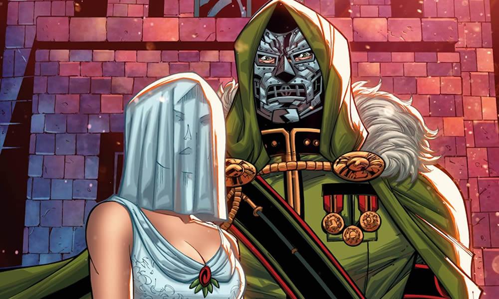 Matrimonio Dottor Destino variant cover