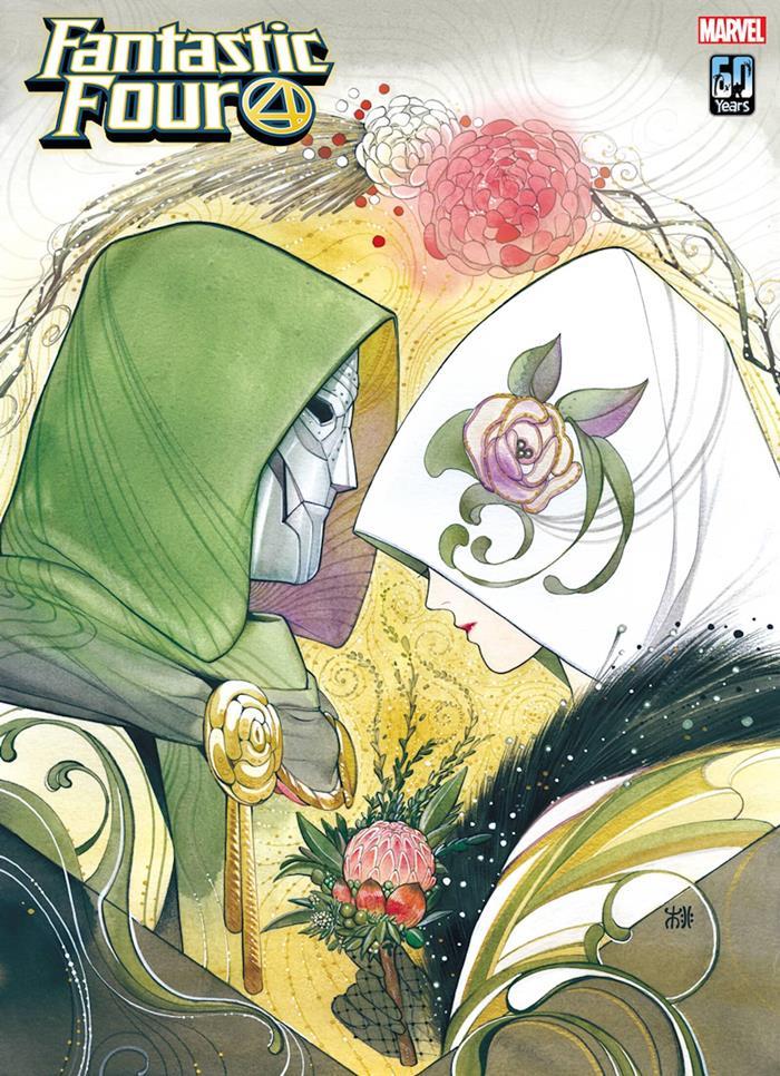Matrimonio Dottor Destino - variant cover Fantastic Four 32
