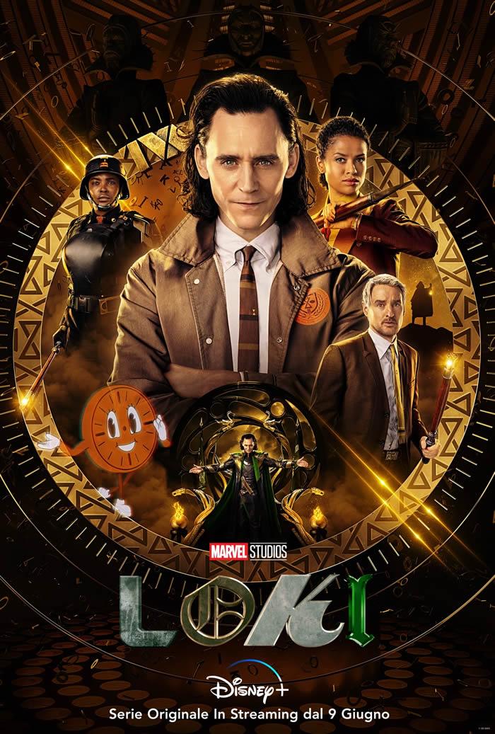 Loki, nuovo poster per la serie Marvel in arrivo su Disney+ | Comics1.com