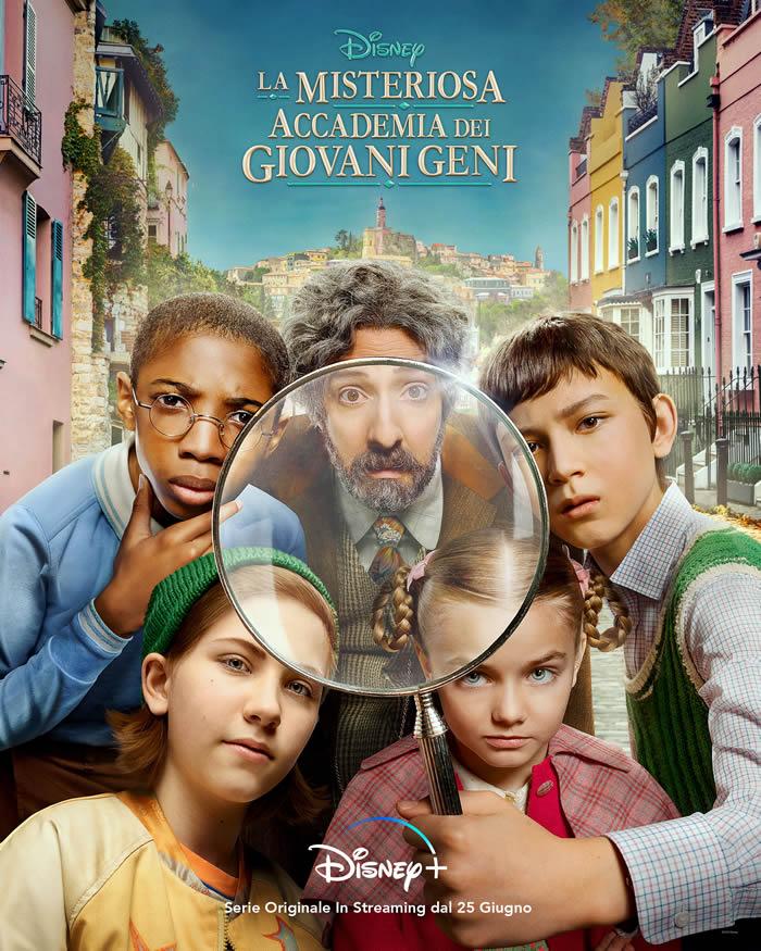 La Misteriosa Accademia dei Giovani Geni - Poster