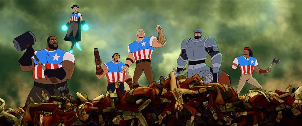 America il film