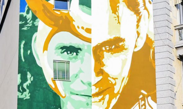 Loki murales a Milano