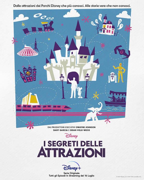 I segreti delle attrazioni Disney - Poster